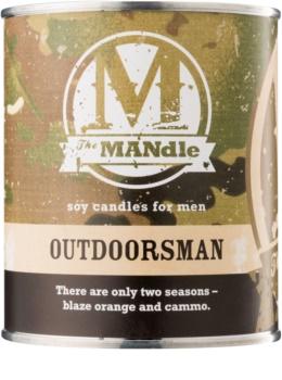 The MANdle Outdoorsman candela profumata 425 g