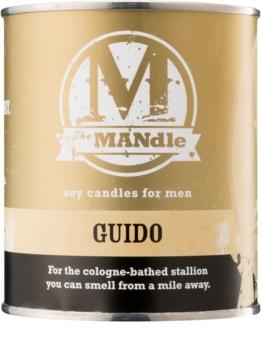 The MANdle Guido vela perfumada  425 g