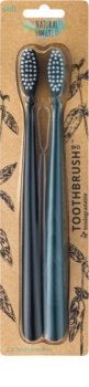 The Natural Family Co. Bio Soft Toothbrushes 2 pcs