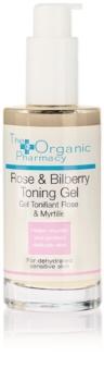 The Organic Pharmacy Skin tonizačný gel pro dehydratovanou pleť se sklonem k začervenání