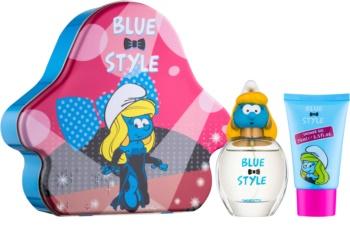 The Smurfs Blue Style Smurfette lote de regalo I.