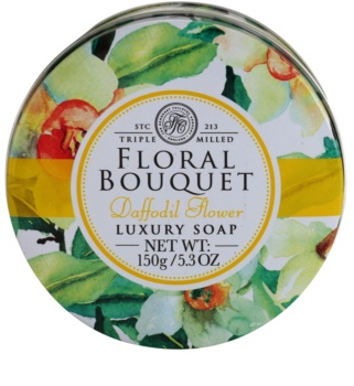 The Somerset Toiletry Co. Floral Bouquet Daffodil Flower luxuriöse Feinseife