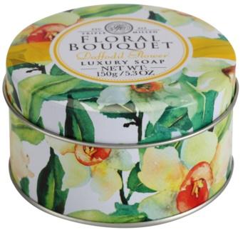 The Somerset Toiletry Co. Floral Bouquet Daffodil Flower luksusowe mydło w kostce