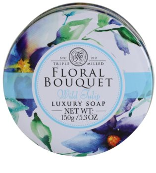 The Somerset Toiletry Co. Floral Bouquet Wild Tulip luxus bar szappan