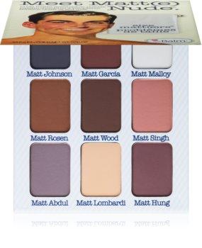 theBalm Meet Matt(e) Nude palette de fards à paupières