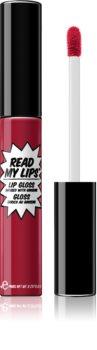 theBalm Read My Lips lesk na rty