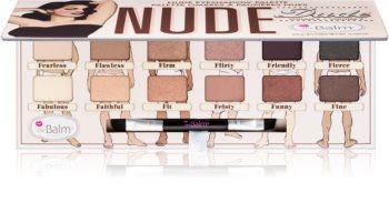 theBalm Nude Dude paleta sjenila za oči s kistom