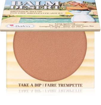 theBalm Desert blush bronzant