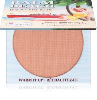theBalm Balm Beach blush longue tenue