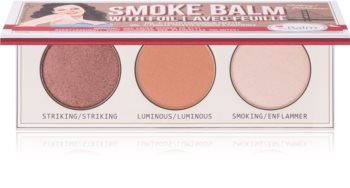 theBalm Smoke Balm with Foil палітра тіней
