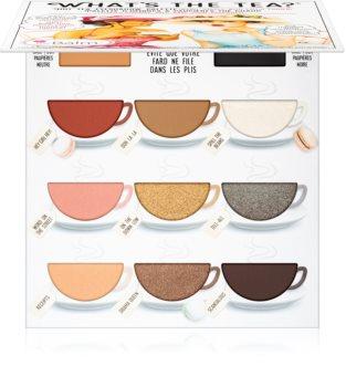 theBalm What's the Tea? Hot Tea palette de fards à paupières
