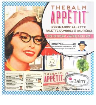 theBalm Appétit paleta farduri de ochi cu oglinda mica