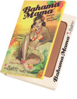 theBalm Bahama Mama бронзатор, тіні для повік та контурна пудра в одному