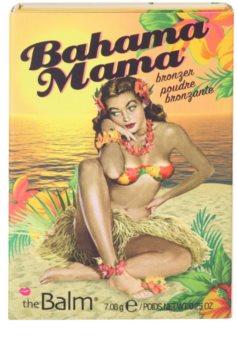 theBalm Bahama Mama polvos bronceadores, de contorno y sombras de ojos en un solo producto