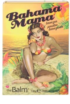 theBalm Bahama Mama pós bronzeadores, de contorno e sombras de olhos em um