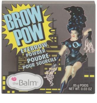 theBalm Brow Pow pudra  pentru sprancene