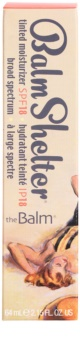 theBalm BalmShelter тонуючий зволожуючий крем SPF 18