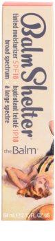 theBalm BalmShelter tónovací hydratačný krém SPF 18