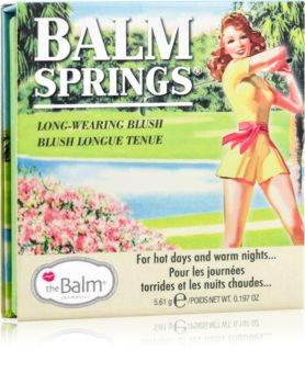 theBalm Balm Springs dolgoobstojno rdečilo