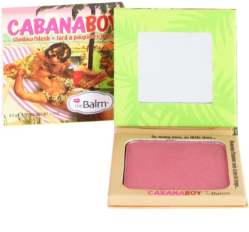 theBalm CabanaBoy colorete y sombra de ojos en un solo producto