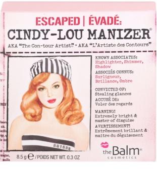 theBalm Cindy - Lou Manizer хайлайтер-тіні для повік в одному