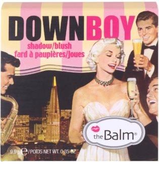 theBalm DownBoy tvářenka a oční stíny v jednom