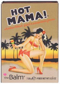 theBalm Hot Mama! colorete y sombra de ojos en un solo producto