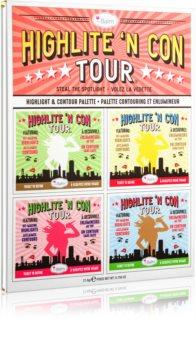 theBalm Highlite 'N Con Tour paletă pentru contur și iluminare