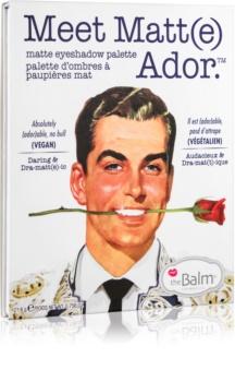 theBalm Meet Matt(e) Ador paletka očných tieňov