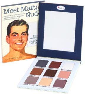 theBalm Meet Matt(e) Nude paletka očných tieňov