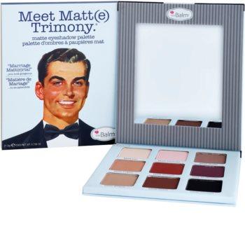 theBalm Meet Matt(e) Trimony Eyeshadow Palette with Mirror