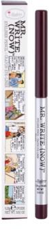 theBalm Mr. Write (Now) контурний олівець для очей
