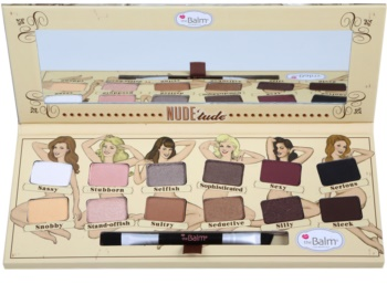 theBalm Nude Tude Eyeshadow Palette with Brush