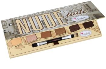 theBalm Nude Tude Eyeshadow Palette with Brush