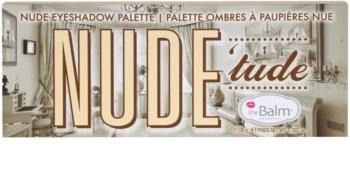 theBalm Nude Tude palette de fards à paupières avec pinceau