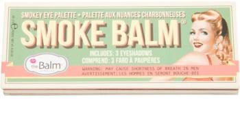 theBalm Smoke Balm Volume  paleta farduri de ochi