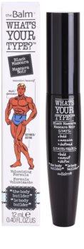 theBalm What's Your Type? mascara cu efect de volum