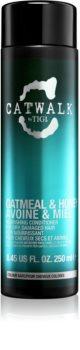TIGI Catwalk Oatmeal & Honey hranilni balzam za suhe in poškodovane lase