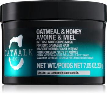 TIGI Catwalk Oatmeal & Honey intenzivna hranjiva maska za suhu i oštećenu kosu