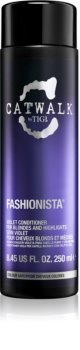 TIGI Catwalk Fashionista Violet Conditioner For Blondes And Highlighted Hair
