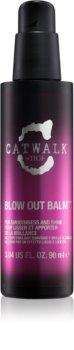 TIGI Catwalk Sleek Mystique kisimító balzsam a rakoncátlan és töredezett hajra