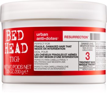 TIGI Bed Head Urban Antidotes Resurrection máscara revitalizante para cabelo danificado e quebradiço