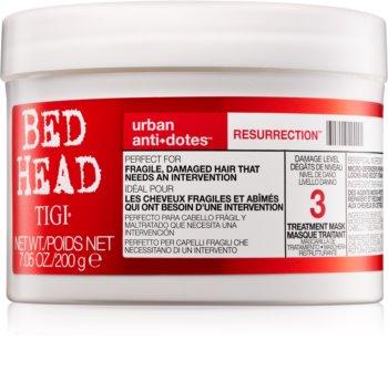 TIGI Bed Head Urban Antidotes Resurrection poživljajoča maska za poškodovane in krhke lase