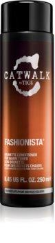 TIGI Catwalk Fashionista odżywka do brązowych włosów o ciepłym odcieniu