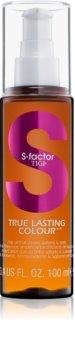 TIGI S-Factor True Lasting Colour olejowe serum do włosów farbowanych