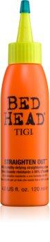 TIGI Bed Head Straighten Out krém  a haj kiegyenesítésére