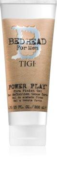TIGI Bed Head B for Men Power Play stylingový gel silné zpevnění