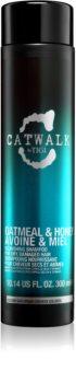 TIGI Catwalk Oatmeal & Honey vyživujúci šampón pre suché a citlivé vlasy