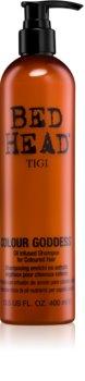 TIGI Bed Head Colour Goddess sampon pe baza de ulei pentru par vopsit