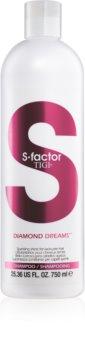 TIGI S-Factor Diamond Dreams szampon do nabłyszczania i zmiękczania włosów